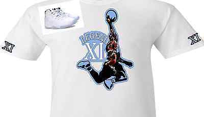 "EXCUSIVE TEE / T-SHIRT to match the NIKE AIR JORDAN 11 LEGEND BLUE! ""MJ THE LEGEND"""