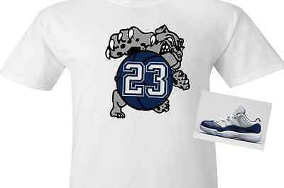 EXCLUSIVE SHIRT to match the NIKE AIR JORDAN 11 LOW GEORGETOWN!