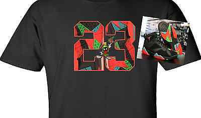 EXCLUSIVE SHIRT to match the NIKE AIR JORDAN 7 RETRO MARVIN THE MARTIANS OR BARCELONA NIGHTS!