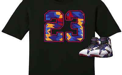 EXCLUSIVE TEE SHIRT to match the NIKE AIR JORDAN 7 RETRO SWEATER!