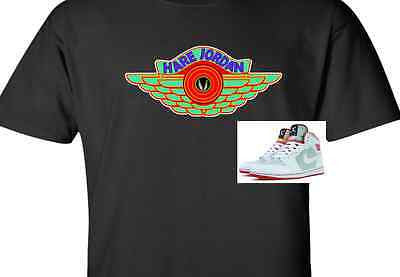 "EXCLUSIVE SHIRT to match the NIKE AIR JORDAN 1 OR 7 VII HARES! ""HARE JORDAN WING"""