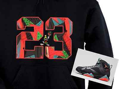 HOODIE to match the NIKE AIR JORDAN 7 MARVIN THE MARTIANS!