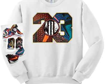 CREWNECK SWEATER/SWEATSHIRT to match the LEBRON 12 WHAT THE / WTL12