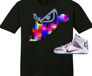 new concept 655ad 2732e EXCLUSIVE TEE SHIRT to match the NIKE LEBRON XII 12 FINISH YOUR  BREAKFAST-Bandit