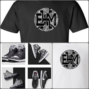 EXCLUSIVE SHIRT to match the NIKE AIR JORDAN BHM SNEAKERS!