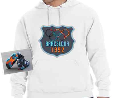 HOODIE to match the NIKE AIR JORDAN 7 BARCELONA DAYS OR NIGHTS!
