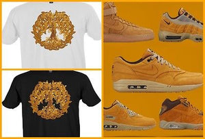 SHIRT to match any NIKE/JORDAN/REEBOK/ADIDAS/TIMBERLAND/SUPREME WHEAT's! WHETREE