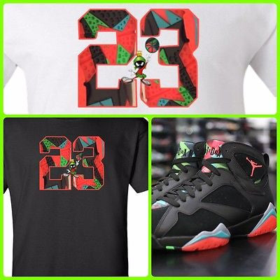 get cheap 4507b 768dd EXCLUSIVE SHIRT to match the NIKE AIR JORDAN 7 RETRO MARVIN THE MARTIANS OR BARCELONA  NIGHTS ...