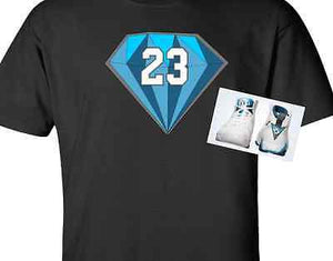 a9f3aa04478f EXCLUSIVE SHIRT to match ANY BLUE NIKE AIR JORDAN! – Cop em Customs