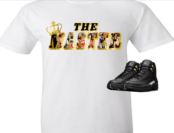 EXCLUSIVE SHIRT to match the NIKE AIR JORDAN 12 MASTERS! THE MASTER