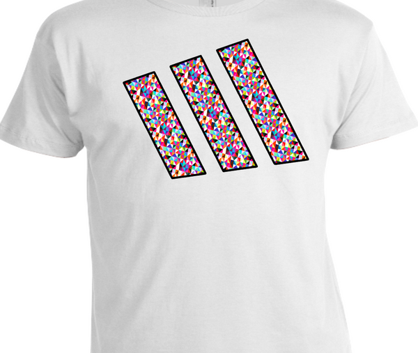 EXCLUSIVE TEE / T-SHIRT to match the ADIDAS ZX FLUX MULTICOLOR PRISMS!