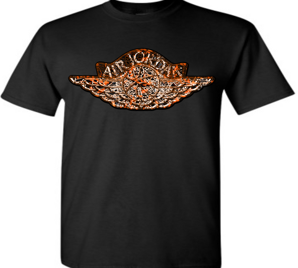 "EXCLUSIVE TEE SHIRT to match the NIKE AIR JORDAN 1 SHATTERED BACKBOARDS-""SBWING"""