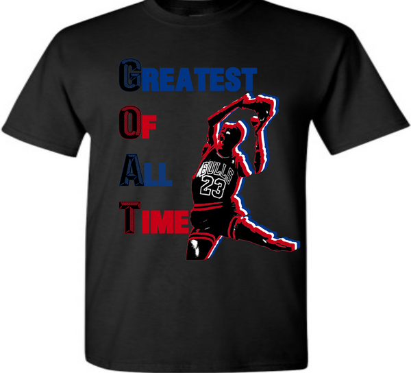 EXCLUSIVE TEE/T-SHIRT #2 to match ANY NIKE AIR JORDAN 1 (TOP 3/BANNED BREDS/ROYALS/CHICAGOS/BLACK TOES/etc)