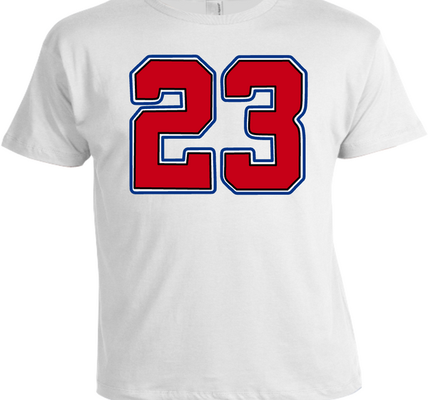 EXCLUSIVE TEE/T-SHIRT #1 to match ANY NIKE AIR JORDAN 1 (TOP 3/BANNED BREDS/ROYALS/CHICAGOS/BLACK TOES/etc)