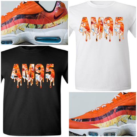 "EXCLUSIVE TEE SHIRT to match the DAVID WHITE x NIKE AIR MAX 95 ALBION COLLECTION! ""FOX"""