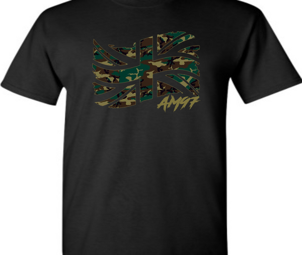 EXCLUSIVE TEE / T-SHIRT to match NIKE AIR MAX 97 COUNTRY CAMO PACK UK