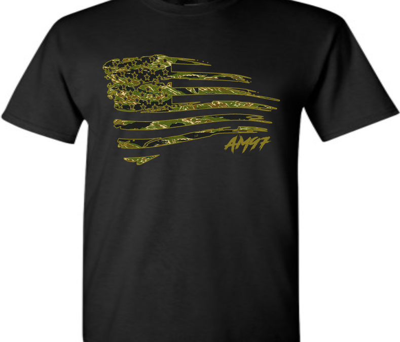 EXCLUSIVE TEE T SHIRT to match NIKE AIR MAX 97 COUNTRY CAMO PACK USA