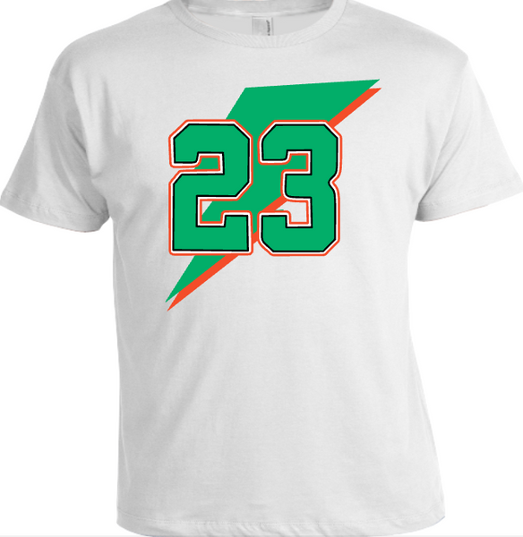 EXCLUSIVE TEE/T-SHIRT 2 to match the NIKE AIR JORDAN GATORADE 1 6 COLLECTION!