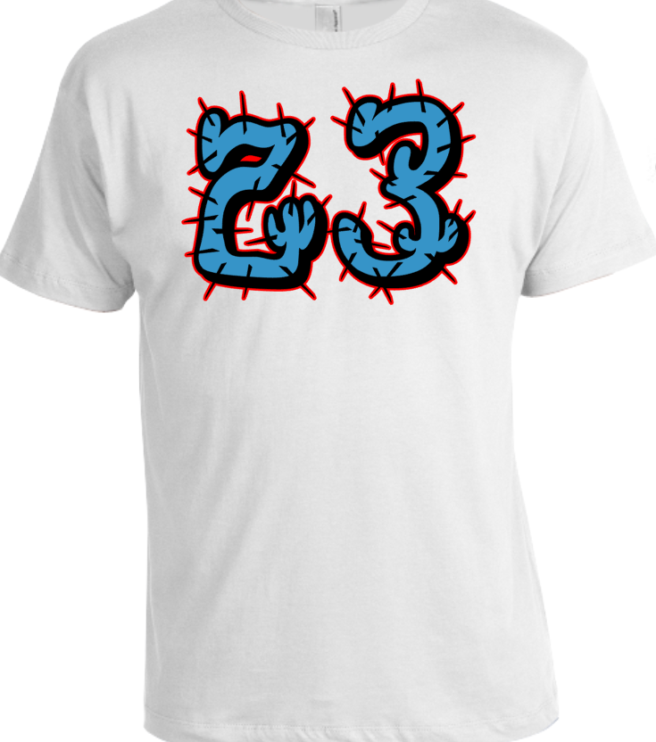 68f65ea78f1 ... EXCLUSIVE TEE/T SHIRT to match AIR JORDAN 4 TRAVIS SCOTT CACTUS JACK  OILERS or ...