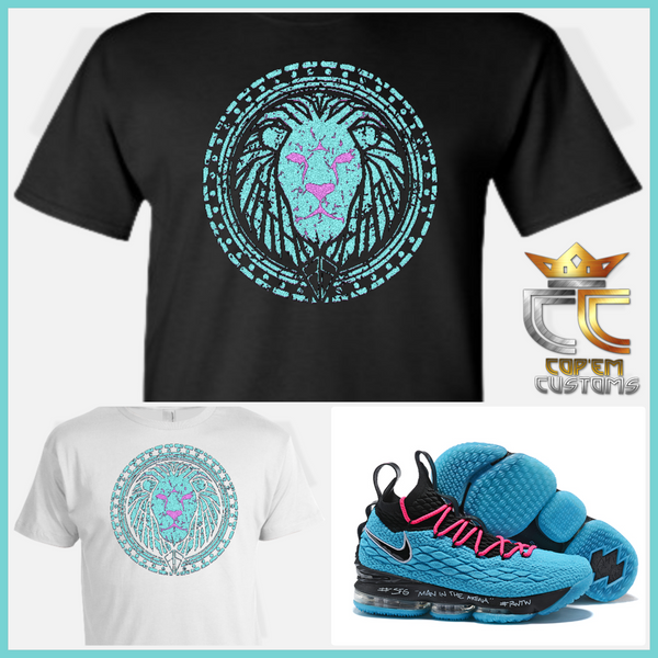 EXCLUSIVE TEE/T SHIRT to match NIKE LEBRON JAMES 15 'SOUTH BEACH'!
