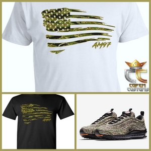 EXCLUSIVE TEE   T-SHIRT to match NIKE AIR MAX 97 COUNTRY CAMO PACK USA 61f970e05