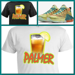 EXCLUSIVE TEE / T-SHIRT to match the NIKE LEBRON 12 PALMERS!