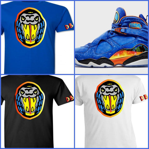 EXCLUSIVE TEE/T-SHIRT to match the NIKE JORDAN 8 DOERNBECHER/DB8 SHIRT!