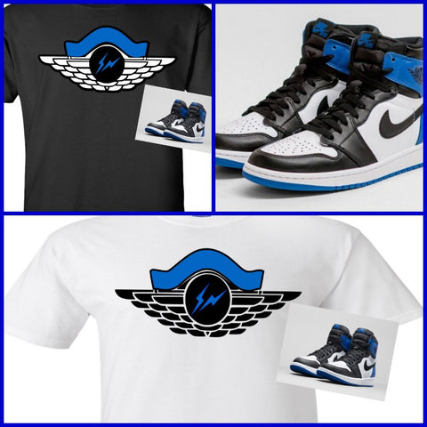 EXCLUSIVE SHIRT to match the NIKE AIR JORDAN 1 FRAGMENTS!