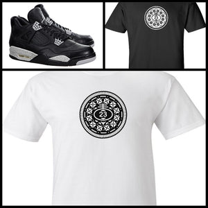 EXCLUSIVE TEE SHIRT to match the NIKE AIR JORDAN 4 OREOS! 03de707e4