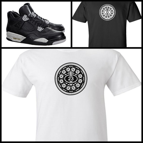 EXCLUSIVE TEE SHIRT to match the NIKE AIR JORDAN 4 OREOS!