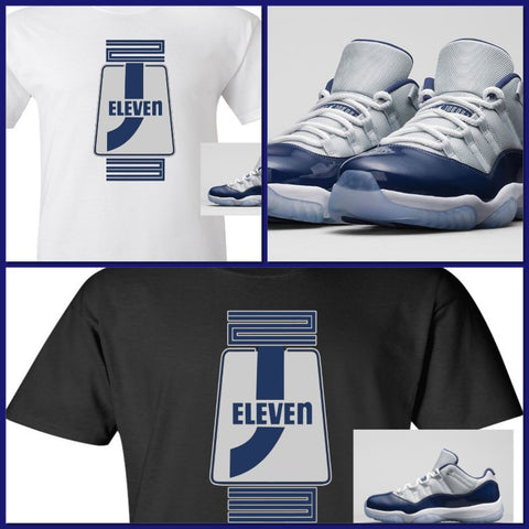 "EXCLUSIVE SHIRT to match the NIKE AIR JORDAN 11 LOW GEORGETOWN-""J11 STORE""!"
