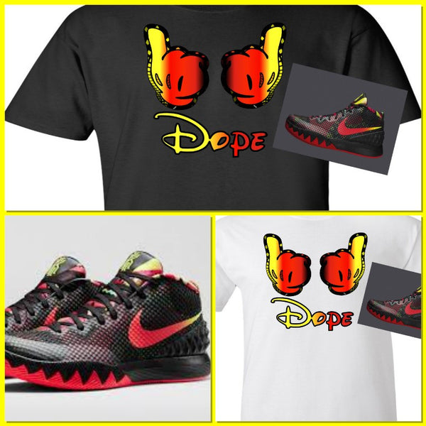 EXCLUSIVE TEE SHIRT to match the NIKE KYRIE 1 DREAMS!