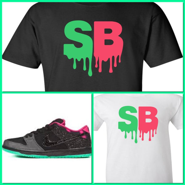 EXCLUSIVE SHIRT to match the NIKE SB DUNK NORTHERN LIGHTS! SB DRIP