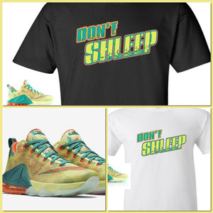 EXCLUSIVE TEE   T-SHIRT to match the NIKE LEBRON 12 PALMERS!