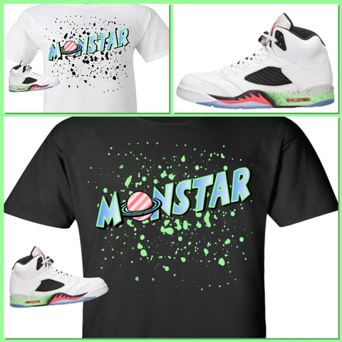 9433a1eb03ba EXCLUSIVE TEE SHIRT to match the NIKE AIR JORDAN V 5 SPACE JAM