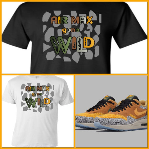 9b2b0b61 EXCLUSIVE TEE SHIRT to match the NIKE AIR MAX 1 SAFARI!