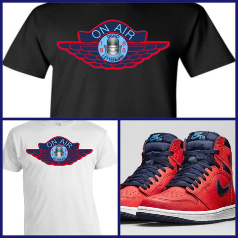 EXCLUSIVE SHIRT to match the NIKE AIR JORDAN 1 LETTERMAN!
