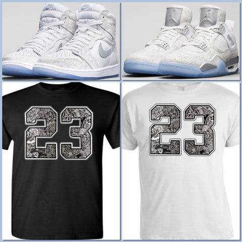EXCLUSIVE TEE/T-SHIRT to match ANY NIKE AIR JORDAN LASERS!