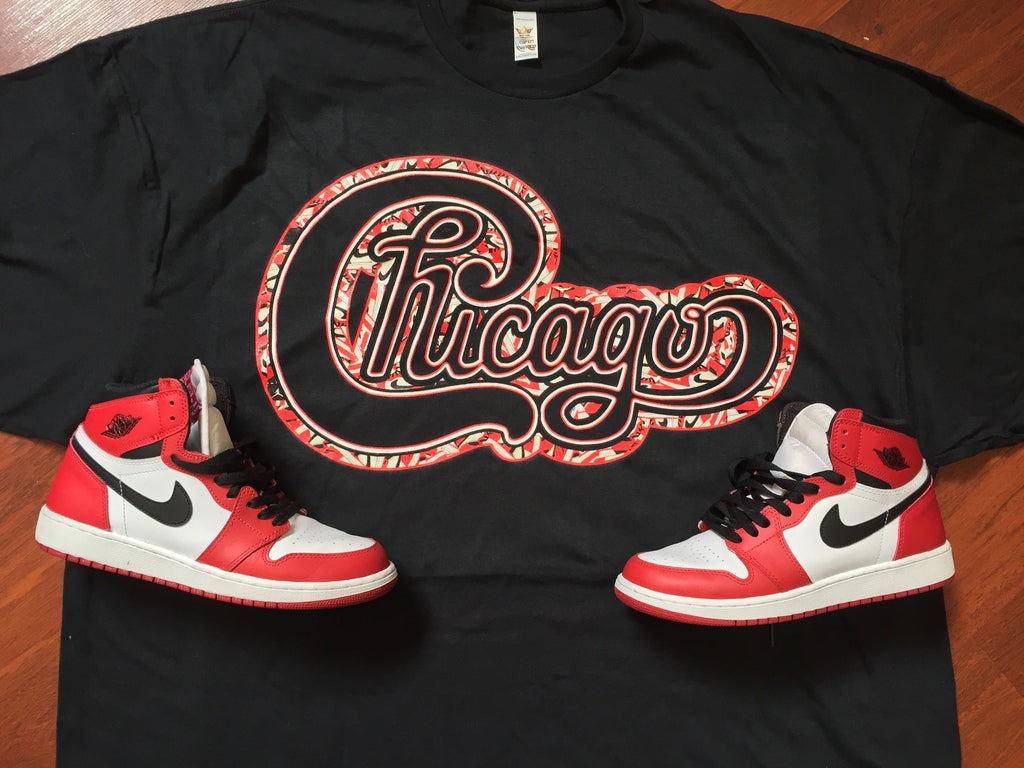 ef3f1c4efc34 ... EXCLUSIVE TEE SHIRT to match the NIKE AIR JORDAN 1 CHICAGO S!