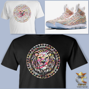 EXCLUSIVE TEE/T SHIRT to match NIKE LEBRON JAMES 15 'CEREAL'!