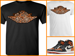 3a2c447fb6a1 EXCLUSIVE TEE SHIRT to match the NIKE AIR JORDAN 1 SHATTERED  BACKBOARDS-
