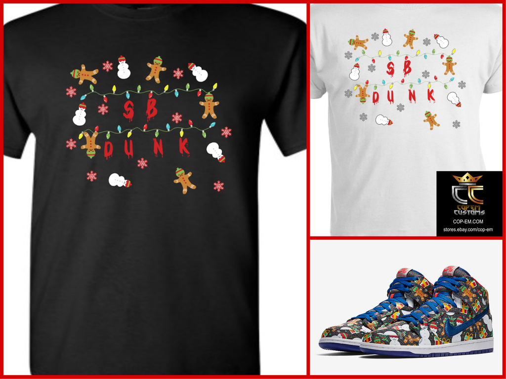 EXCLUSIVE TEE/T-SHIRT to match the CONCEPTS x NIKE SB DUNK UGLY ...