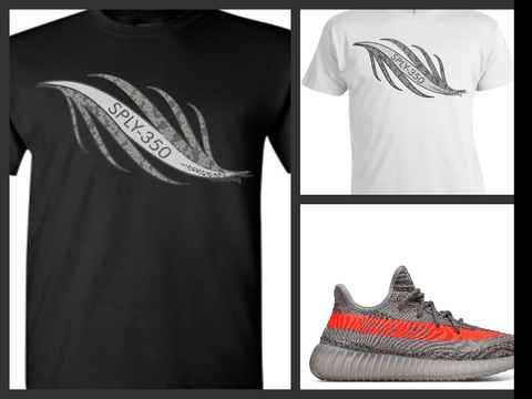 EXCLUSIVE TEE SHIRT to match the ADIDAS YEEZY BOOST 350 V2 BELUGAS!