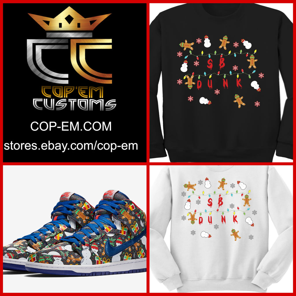 EXCLUSIVE SWEATER/SWEATSHIRT to match the CONCEPTS x NIKE SB DUNK ...