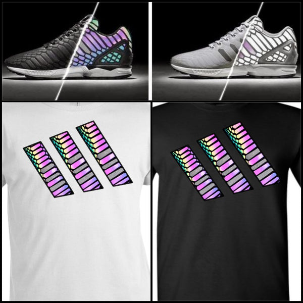 EXCLUSIVE SHIRT to match the ADIDAS ZX FLUX XENOPELTIS REFLECTIVES / XENO