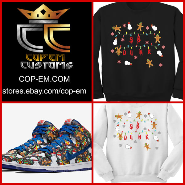 EXCLUSIVE SWEATER/SWEATSHIRT to match the CONCEPTS x NIKE SB DUNK UGLY CHRISTMAS SWEATER 2017!
