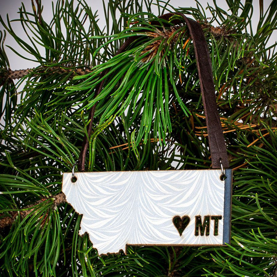 I {heart} MT Ornament