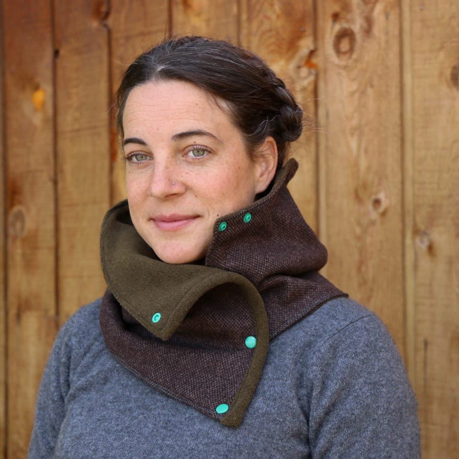 Chinook Woolen Neck Wrap