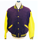 Full Button-Up Baseball/Softball Bomber Jackets - team orders only