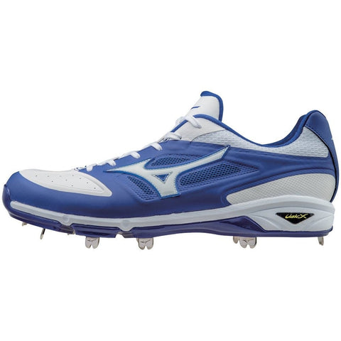 Mizuno Dominant IC Men's Low Cut Metal Cleats - Size 10 & 12 US NOTE BLACK only with white sole and logo